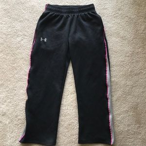 Under Armour Pants - Under Armour- Girls loose sport pants